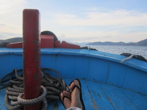 boat feet