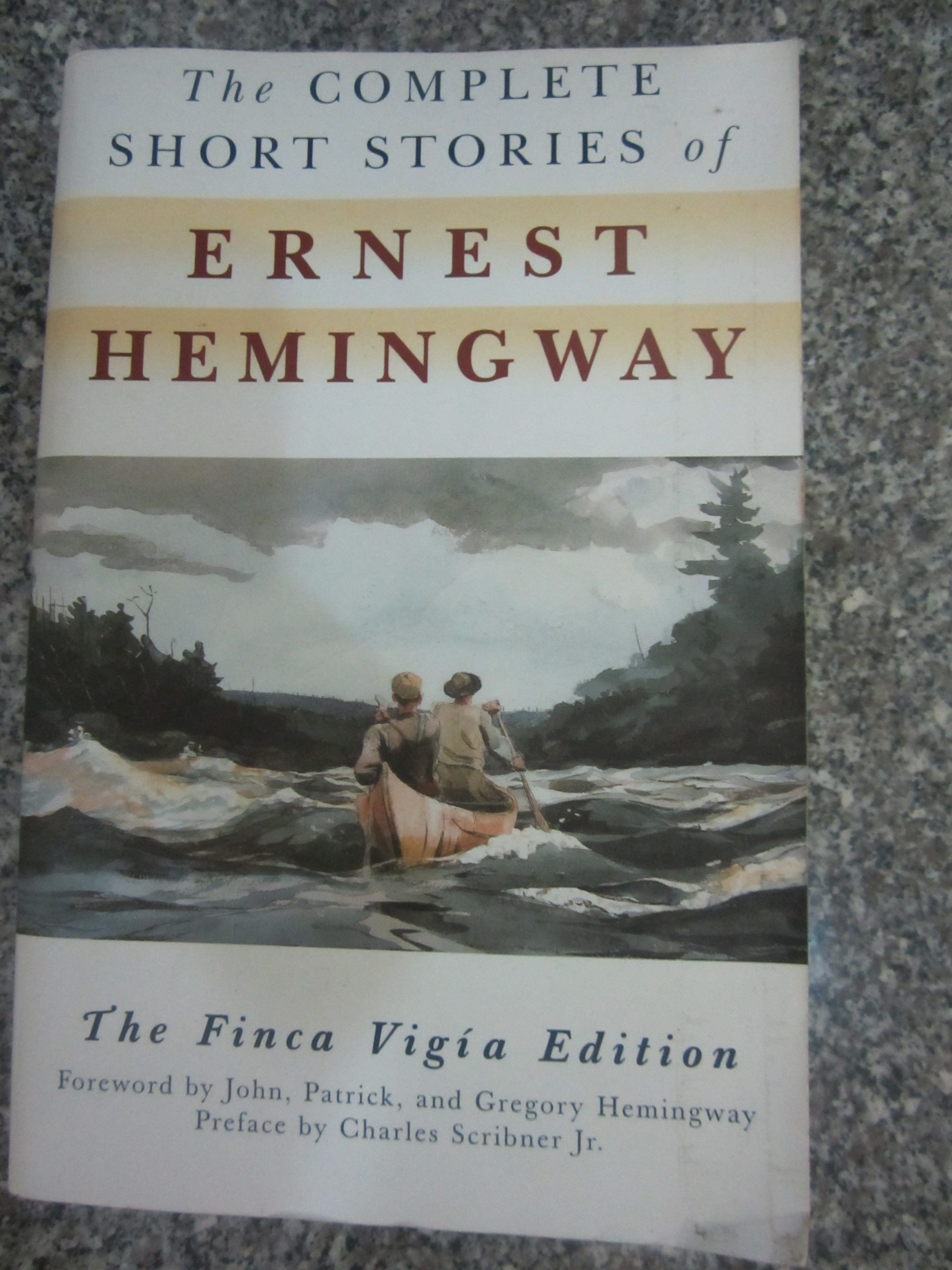 an examination of the short story indian camp by ernest hemingway Understanding and overcoming the accidental happenings in life are small  in  the short story indian camp, the first of the nick story series, hemingway  describes  a little more space to examining nick's ego  hemingway, ernest.
