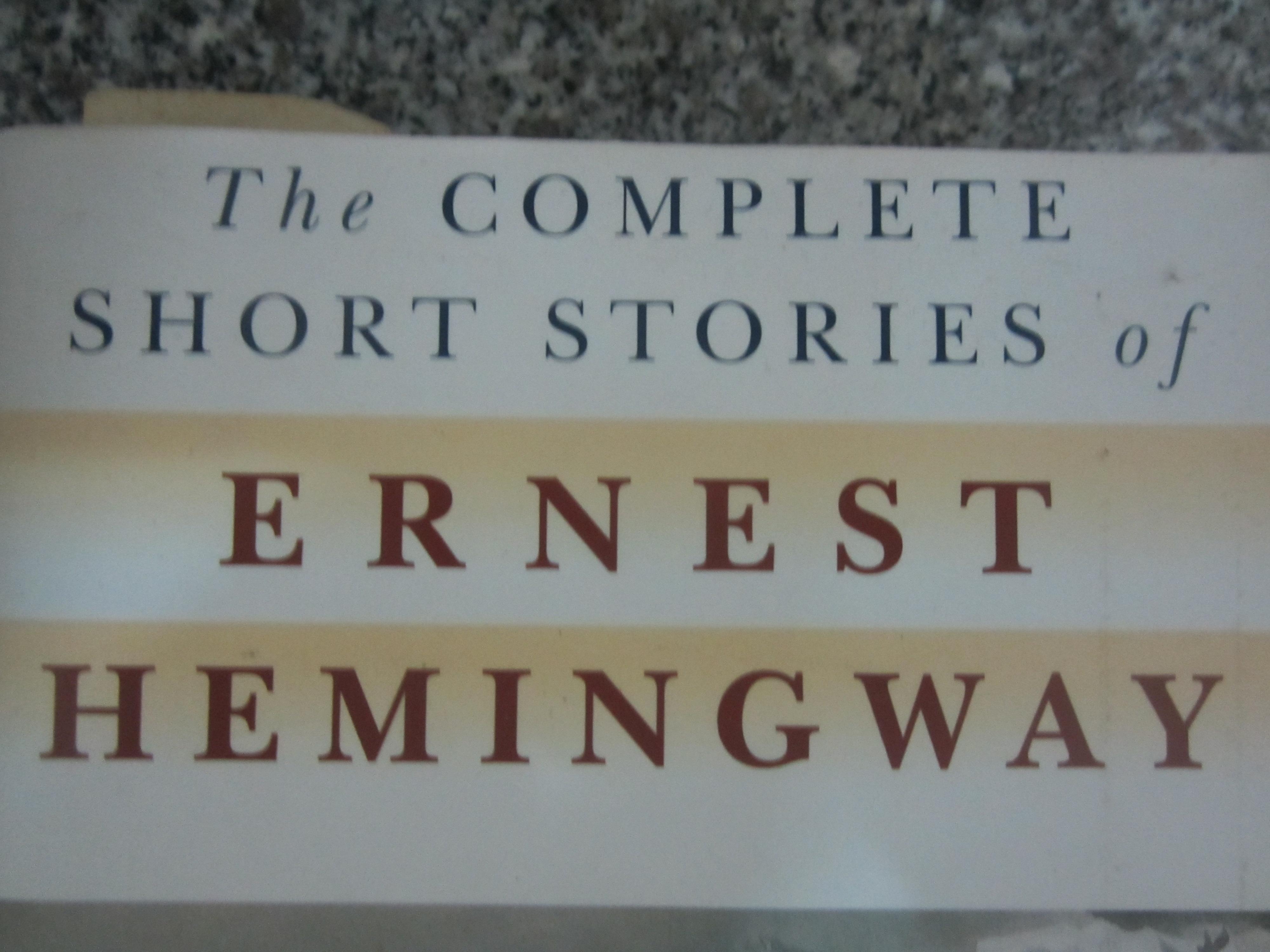 ernest hemingway short essays Ernest hemingway 1899–-1961 american novelist, short story and novella writer, dramatist, poet, journalist, essayist, and memoirist the following entry presents criticism of hemingway's short.