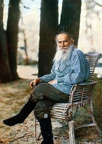 tolstoy at park