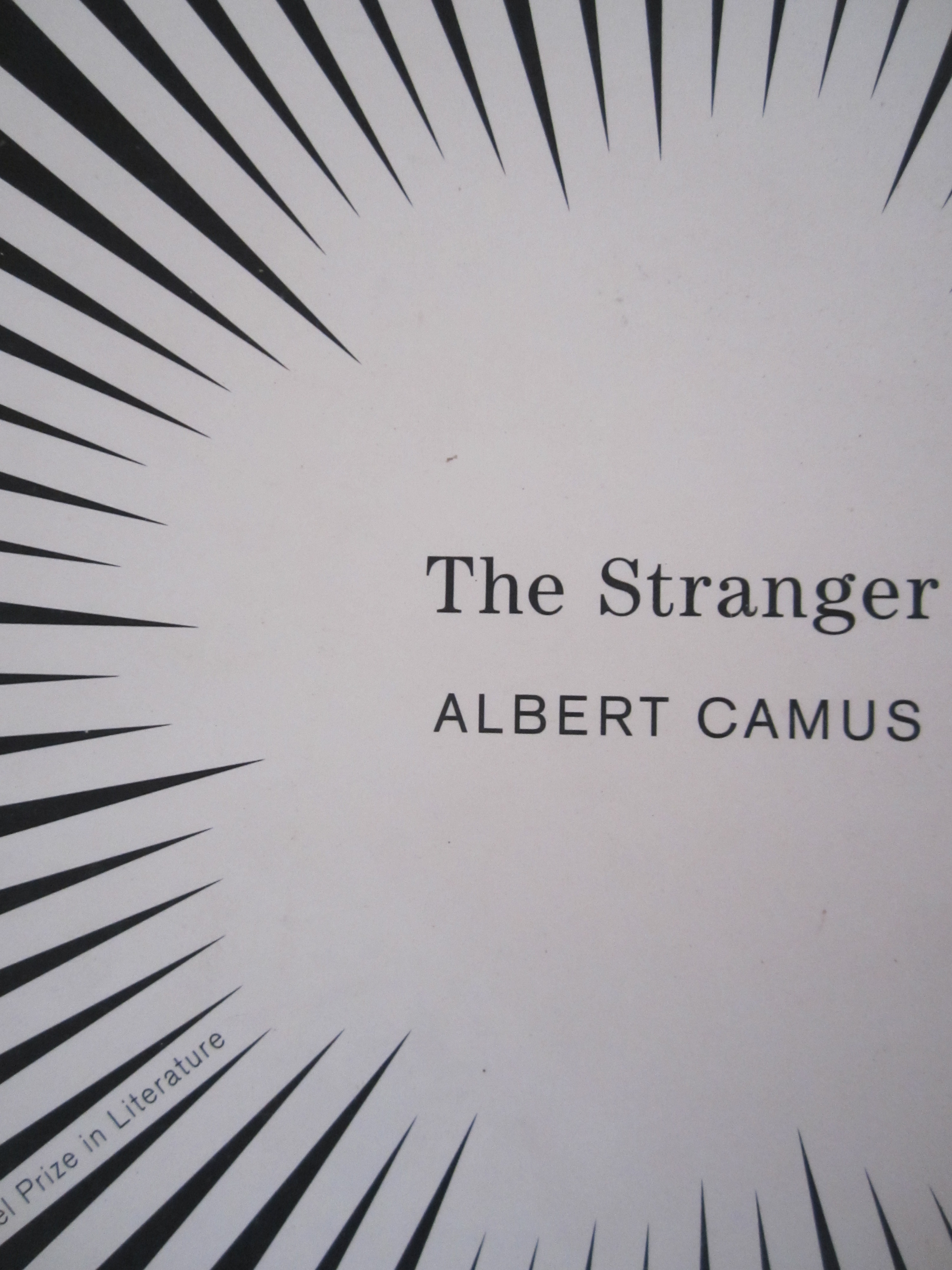 the stranger by albert camus cg fewston 4561