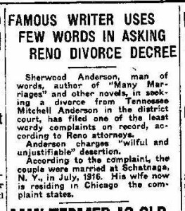 1_ Famous Write Seeks request divorce 1923