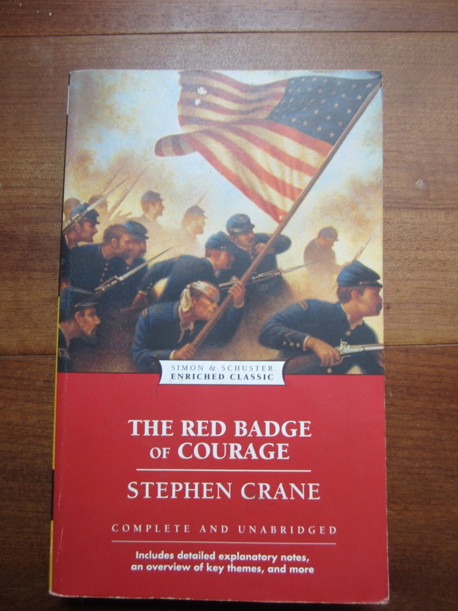 stephen cranes red badge of courage essay Nobody knows henry binder this essay celebrates an unknown novel  by stephen crane entitled the red badge of courage, a novel that only a few of .