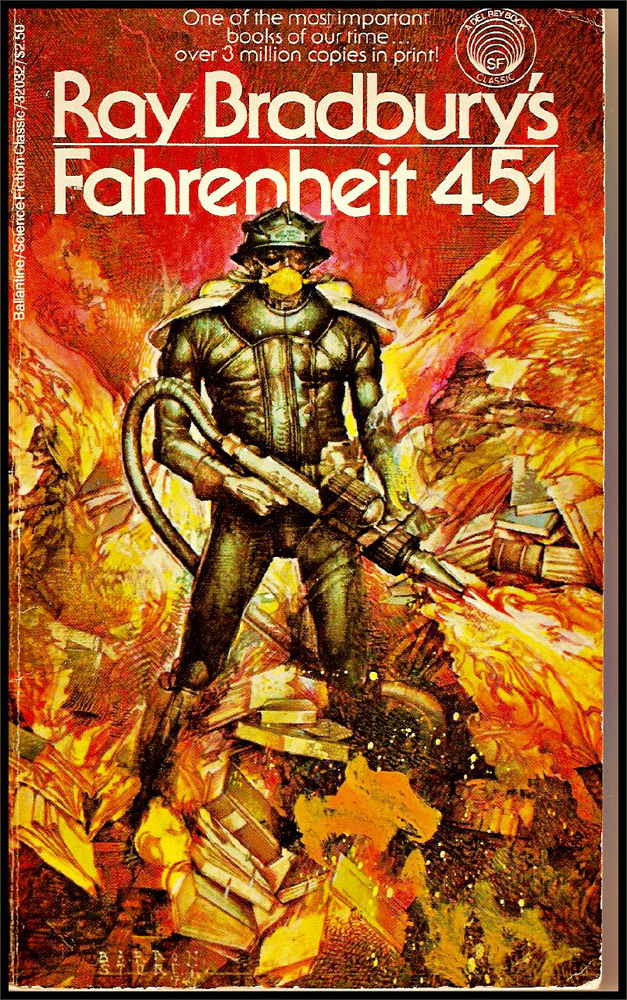 farenheit 451 comparison book to movie Find great deals on ebay for fahrenheit 451 book and fahrenheit flat iron shop with confidence.