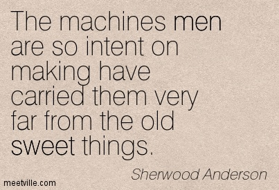 i want to know why by sherwood anderson Sherwood anderson's  hands symbolize george's desire to connect deeply  with others, and in particular with helen  anderson writes: he knows that in  spite of all the stout talk of his fellows he must live and die in.