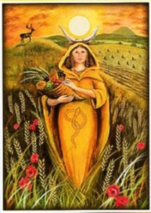 lammas-goddess