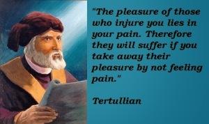 Tertullian Quote
