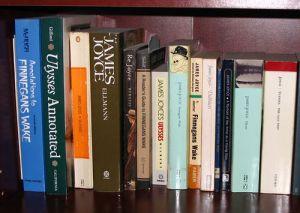 book shelf james joyce 1