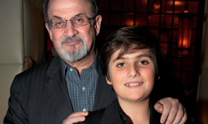 rushdie with son milan
