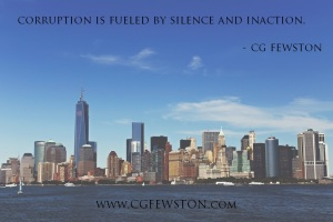 silence is power - cg fewston