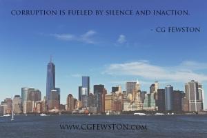 silence is power - cg fewston