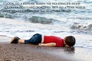 Aylan Kurdi we love you - cg fewston