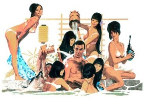 James Bond Japanese Harem