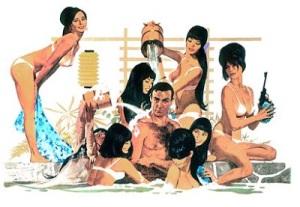 James Bond Japanese Harem